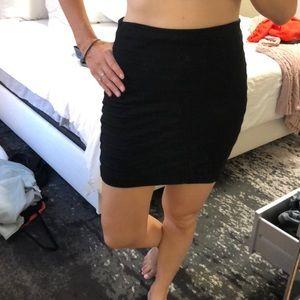Black band skirt